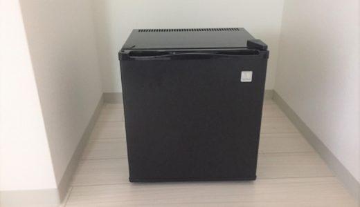 「無音の小型冷蔵庫」レビュー。一人暮らしミニマリストに最適な冷蔵庫だった