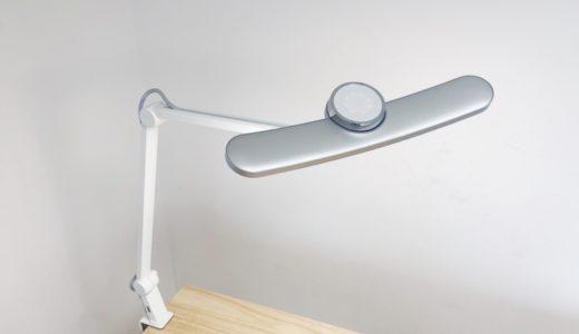 【BenQ WiT MindDuo LEDデスクライト レビュー】目の負担を和らげる高機能デスクライト